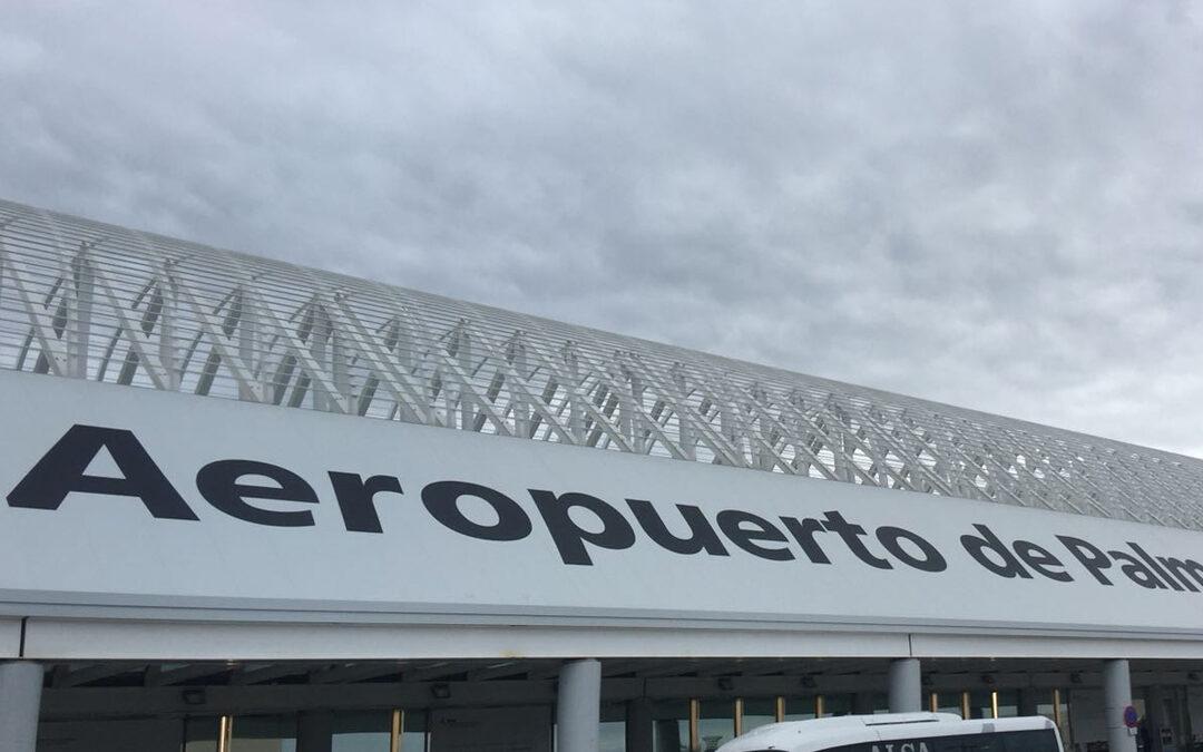 Cubierta Aeropuerto de Mallorca